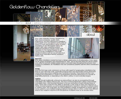 Goldenflow Chandeliers